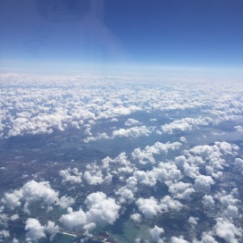 Flying in to Fort Myers